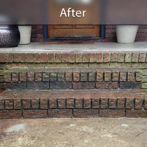Sinking stairs repaired with PolyLevel® Jackson